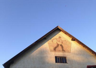 Sämann am Bahnlagerhaus Gr. Siegharts