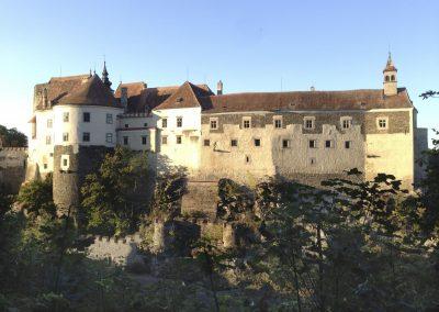 Schloss Raabs/Thaya vom Radweg aus