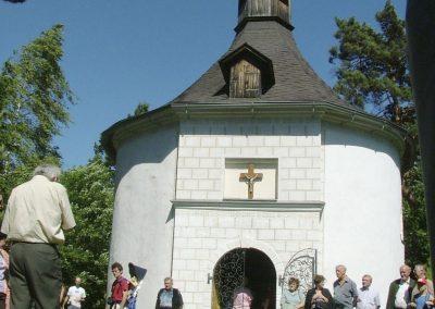 Ägidiuskapelle in Gilgenberg
