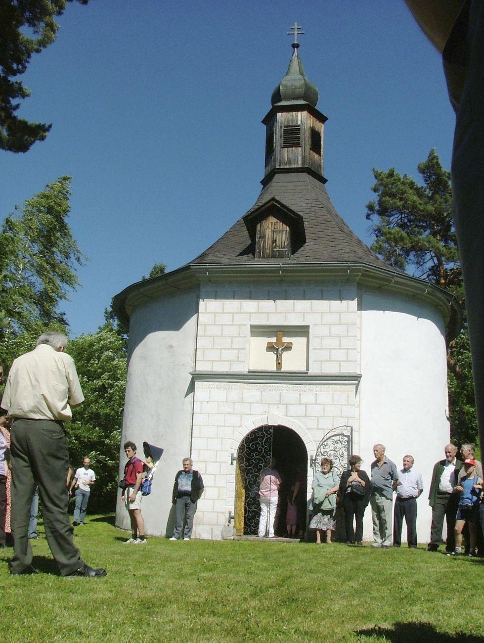 Thayarunde-Ägidiuskapelle in Gilgenberg